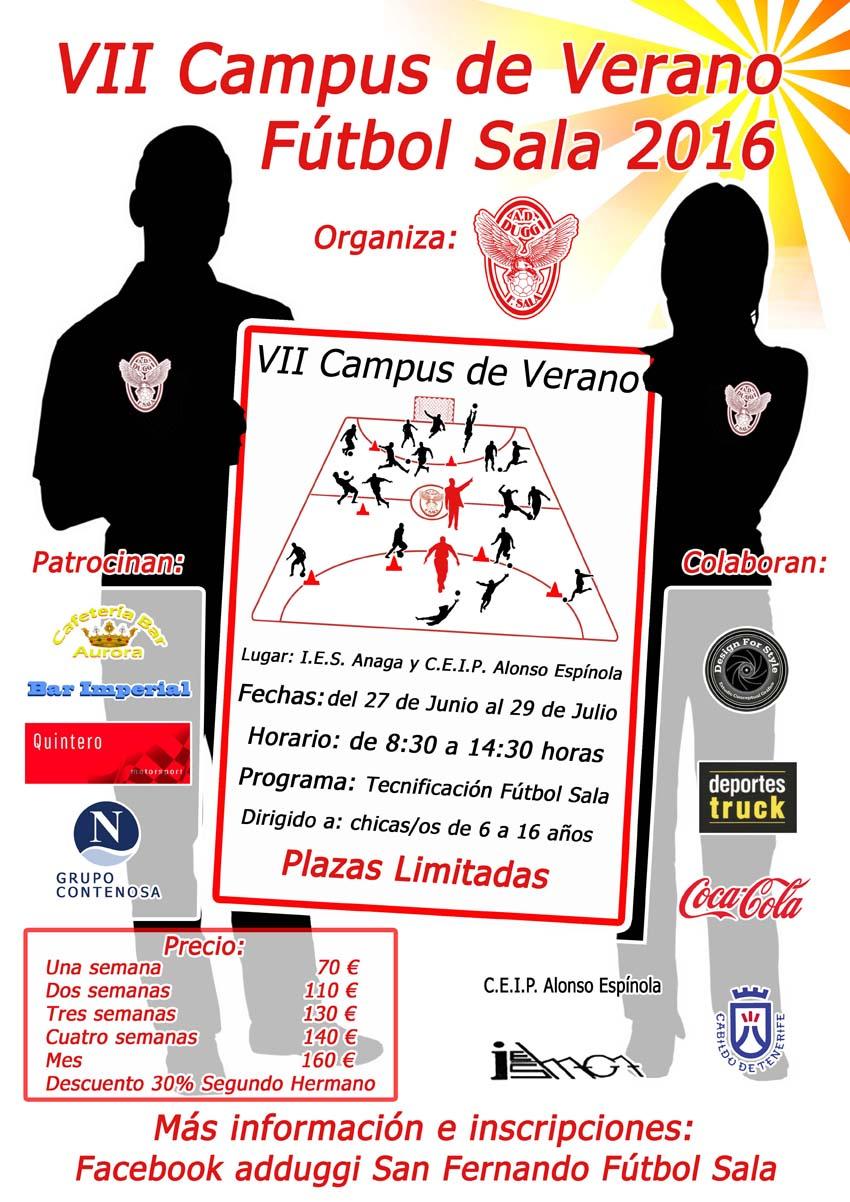 VII Campus de Verano Fútbol Sala 2016