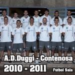 Primer equipo AD DUGGI 2010-11